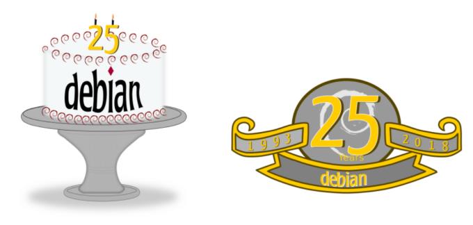 Debian is 25 years old by Daniel Lenharo