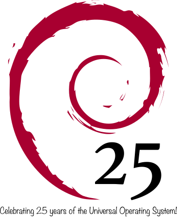 Debian is 25 years old by Mark Billings