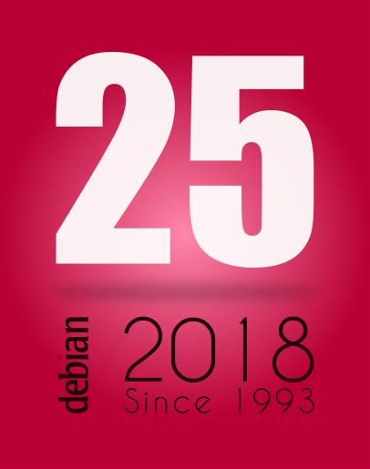 Debian is 25 years old by Petrusko